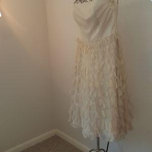 White house Black market silk dress, size 10, J290